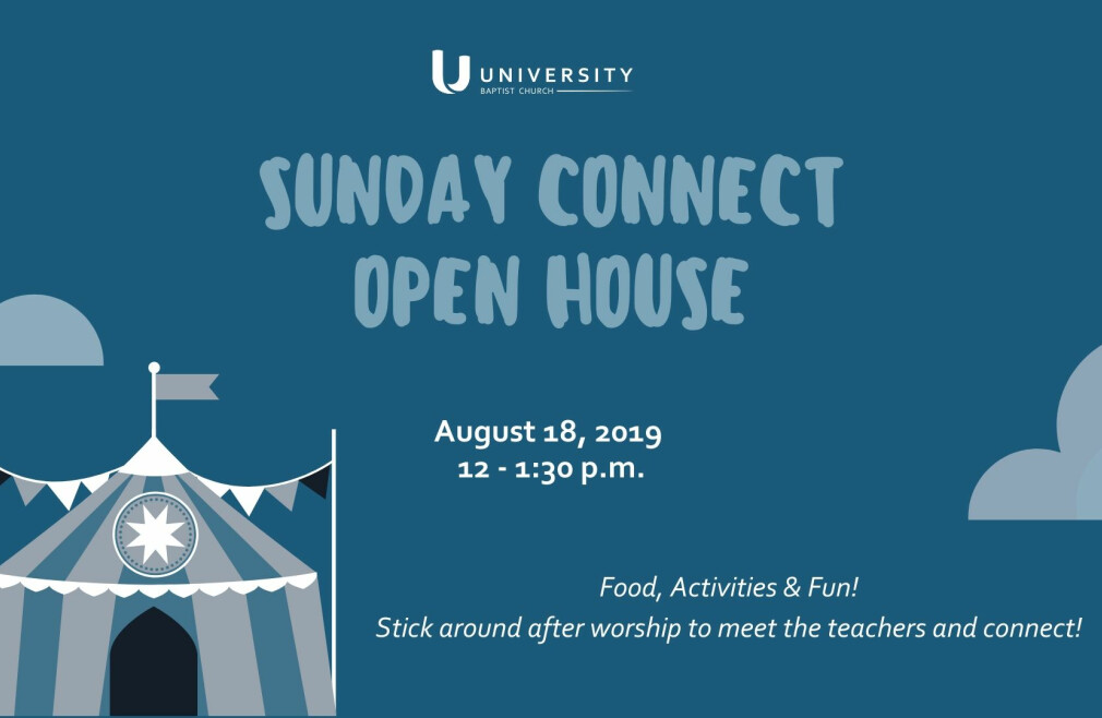 Sunday Connect Open House