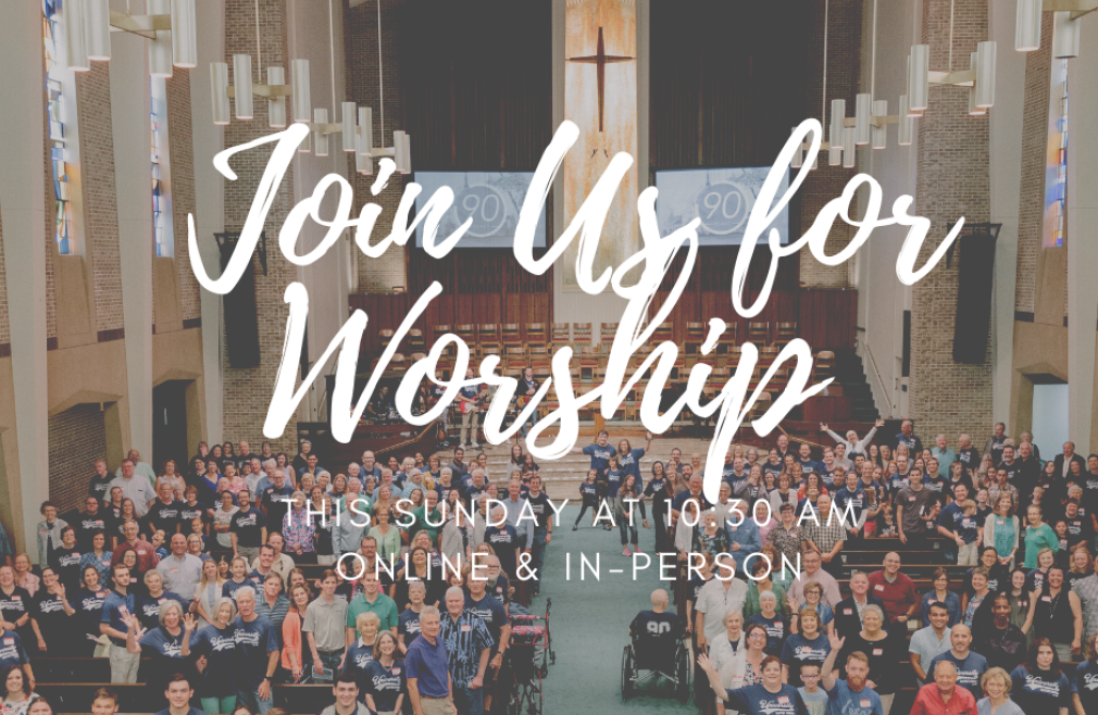 Online and In Person: Sunday Morning Worship