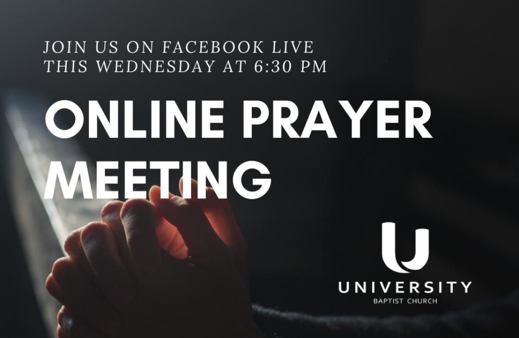Online: Prayer Meeting